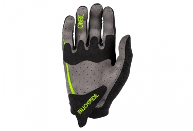 Gants Longs ONEAL BLOCKER Noir Jaune