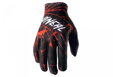 Gants Longs ONEAL MATRIX ENIGMA Noir Rouge
