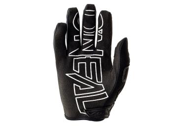 gants longs oneal jump flow jag noir rouge m