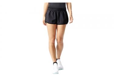 short femme adidas m10 2in gris noir l