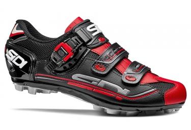 Chaussures vtt sidi eagle 7 noir rouge 42