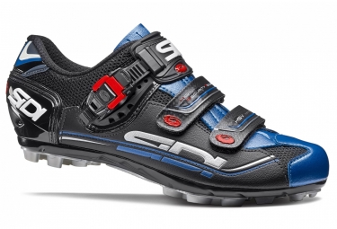 chaussures vtt sidi eagle 7 noir bleu 40
