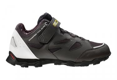 paire de chaussures mavic 2017 echappee trail elite noir blanc 38