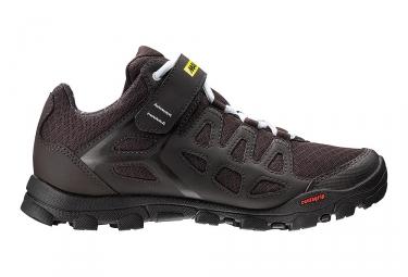 paire de chaussures femme mavic 2017 echappee trail noir 38