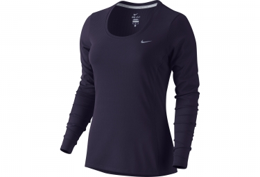 Maillot femme nike zonal cooling contour violet xs