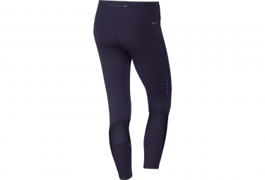 Collant 3/4 Femme NIKE POWER EPIC LUX Violet
