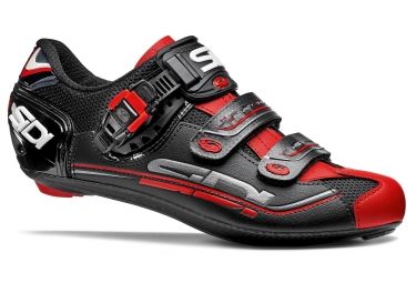 Road Shoes Sidi Genius 7 Black Red 2017