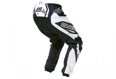 pantalon enfant oneal element racewear blanc noir 24