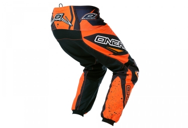 pantalon enfant oneal element racewear orange noir 24