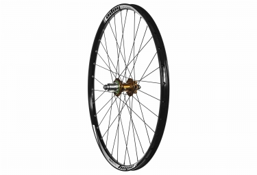 roue arriere hope enduro pro 4 27 5 9x135 12x142mm corps xd orange
