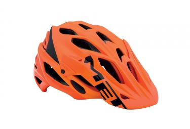 casque met parabellum orange l 59 62 cm