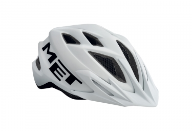 Casco Met Crackerjack Blanco Unique  52 57 Cm