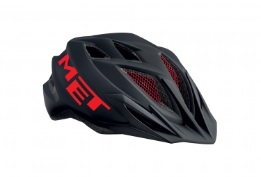 casque met crackerjack noir rouge unique 52 57 cm
