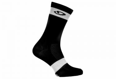 Paire de chaussette giro comp racer noir blanc 36 39