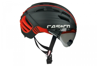 casque aero casco speedster tc plus noir rouge m 54 58 cm