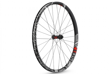 Roue avant dt swiss xm 1501 spline one 27 5 largeur 35mm 15x100mm center lock noir