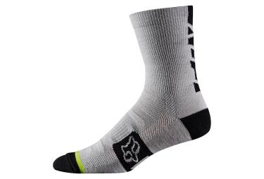 paire de chaussettes fox merino wool 6 gris 43 46