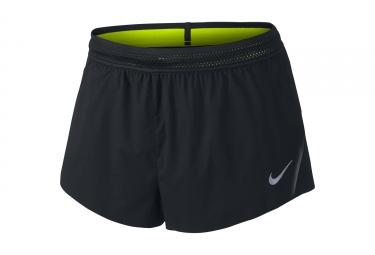 short homme nike aeroswift race 5cm noir xl
