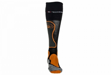 Paire de Chaussettes Chauffantes THERM-IC POWER SOCKS IC1200 Noir Orange