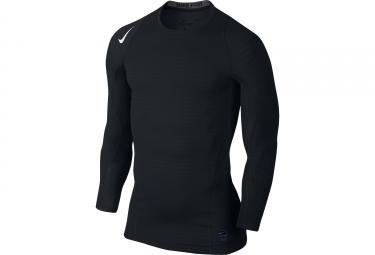 maillot de compression homme nike pro warm noir l