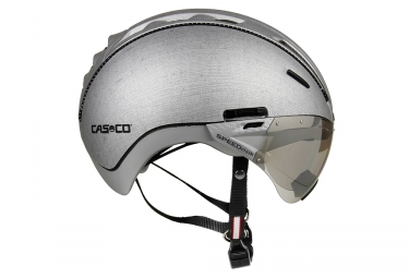 casque casco roadster tc argent l xl 60 63 cm
