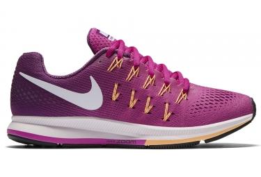 Chaussures de Running Femme Nike AIR ZOOM PEGASUS 33 Rose