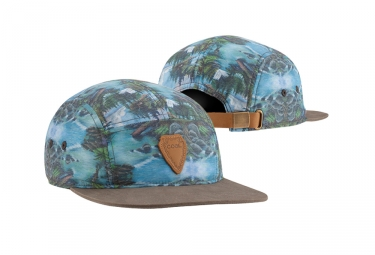 Coal Headwear The Cascade 5 Panel Kappe Blau