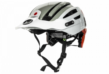 Urge Endur-O-Matic 2 Helmet White Grey Red