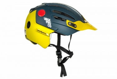 Casque urge 2019 endur o matic 2 bleu jaune l xl 57 59 cm