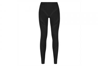 Sous-Pantalon de Compression Femme ODLO MUSCLE FORCE EVOLUTION WARM Noir Gris