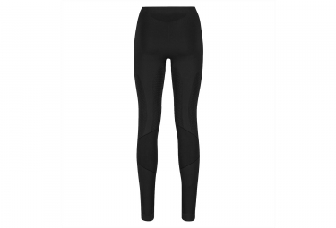 sous pantalon de compression femme odlo muscle force evolution warm noir gris s