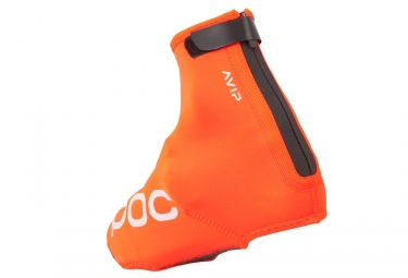 couvres chaussures poc avip neoprene bootie orange 36 38