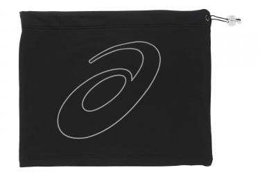 bonnet de sport asics logo tube performance noir