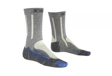 Calcetines X-SOCKS TREKKING LIGHT - Bleu / Gris