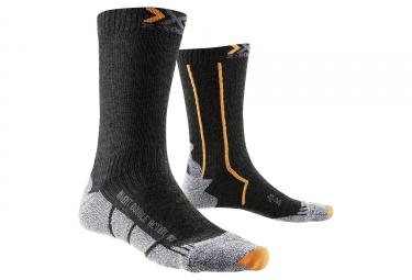 paire de chaussettes x socks double invent mid noir 45 47