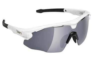 paire de lunettes azr flash rx blanc gris