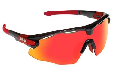paire de lunettes azr flash rx noir rouge