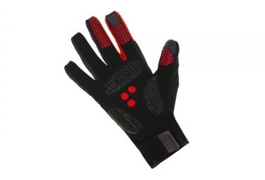 gants hiver spiuk 2017 xp essentials winter rouge noir l