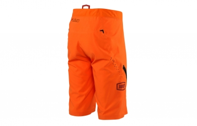 Short avec Peau 100% Celium Orange