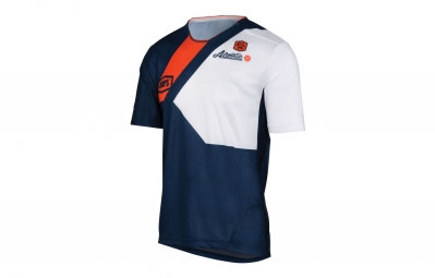 100% AIRMATIC HONOR Short Sleeves Jersey Blue