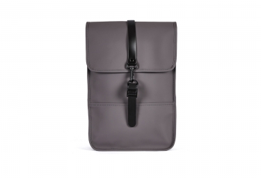 sac a dos impermeable rains backpack mini gris