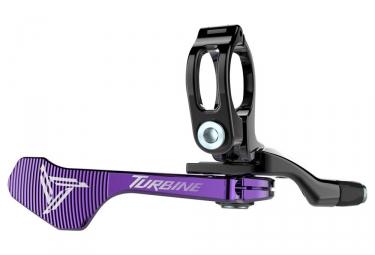 Commande tige de selle raceface 1x turbine violet