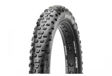 maxxis pneu fat bike minion fbr 26 4 80 dual 60tpi tringles souples tubetype tb72664200
