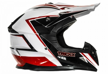 Casco Integral Trick X SPIKE Noir / Rouge