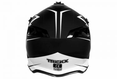 Casque Intégral TRICK X SPIKE Noir Blanc