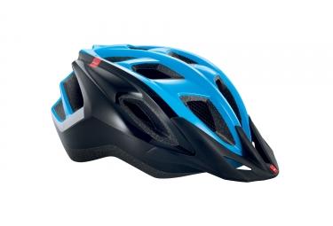 casque met funandgo noir bleu brillant s 52 57 cm