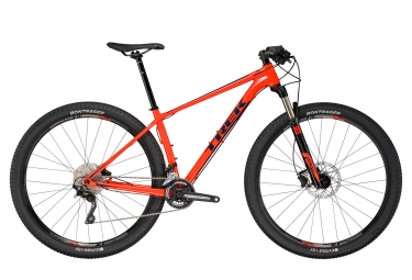 vtt semi rigide trek 2017 superfly 5 29 shimano deore 10v orange noir 18 5 pouces 170 179 cm