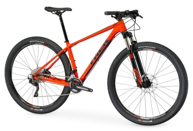 vtt semi rigide trek 2017 superfly 5 29 shimano deore 10v orange noir 18 5 pouces 17