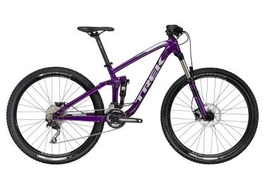 vtt tout suspendu femmes trek 2017 fuel ex 5 wsd 29 shimano deore 10v violet 17 5 po