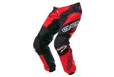 Pantalon ONEAL ELEMENT RACEWEAR Noir Rouge